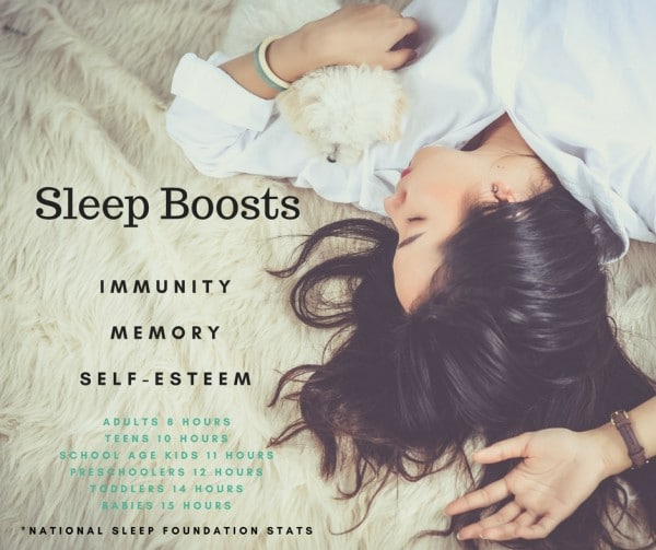 Boost Memory, Confidence and Immunity with Better Sleep