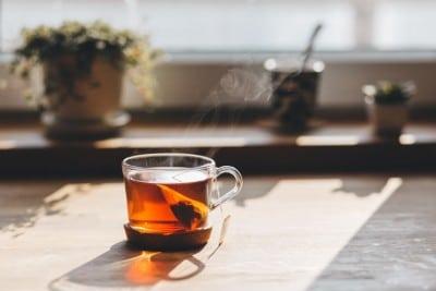 DRINK HOT TEA