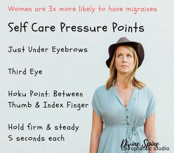 Message to self care pressure point