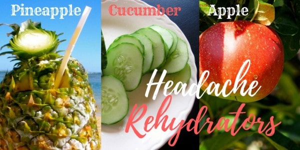 3 foods to help hydrate your headaches away