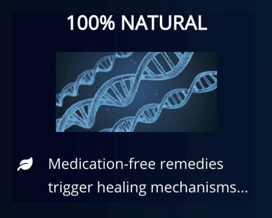 100% natural and Medication free remedies Divine Spine Chiropractic Studio