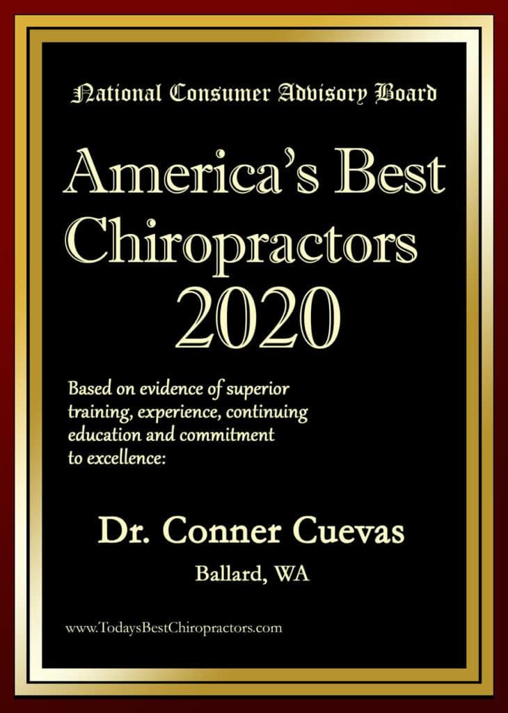 America's Best Chiropractor Dr. Conner Cuevas